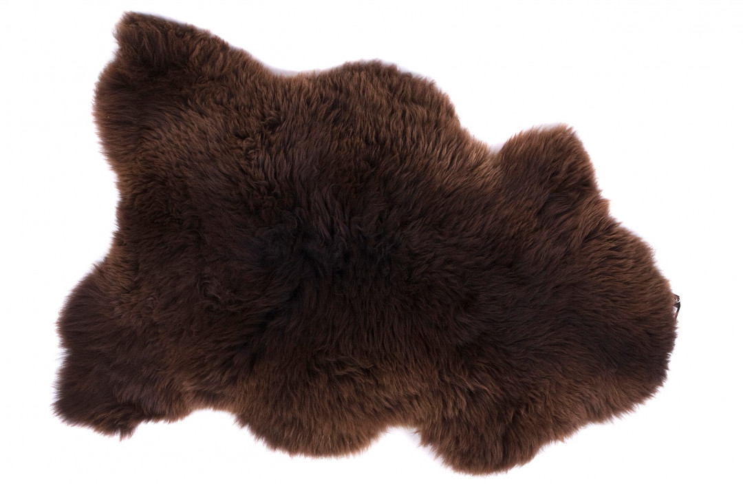 Schapenvacht uni brown