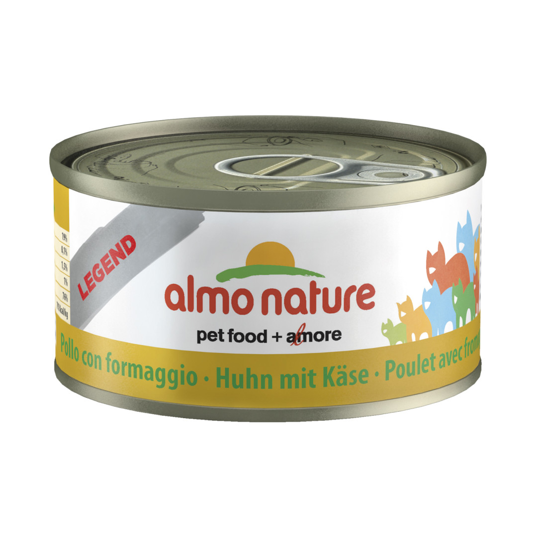 Almo Nature kattenvoer Legend kip & kaas 70 gr