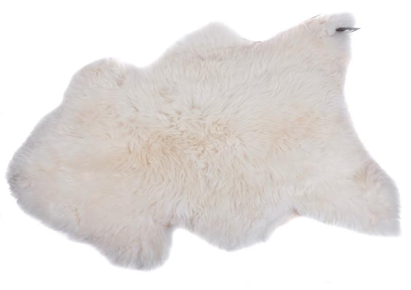 Schapenvacht uni bright white