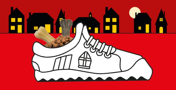 Zet een schoen voor uw huisdier!