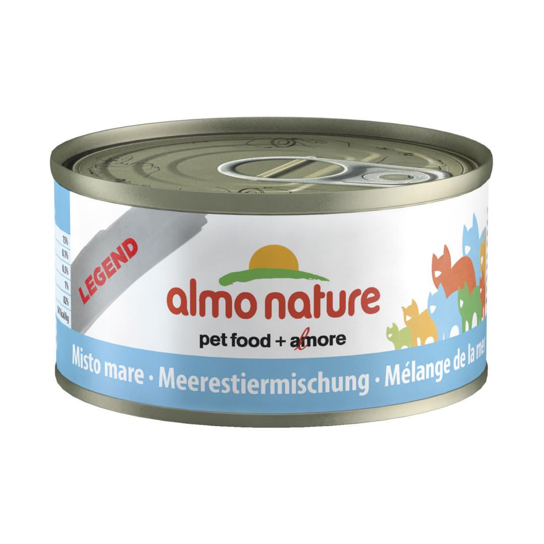 Almo Nature kattenvoer Legend gemengde zeevis 70 gr