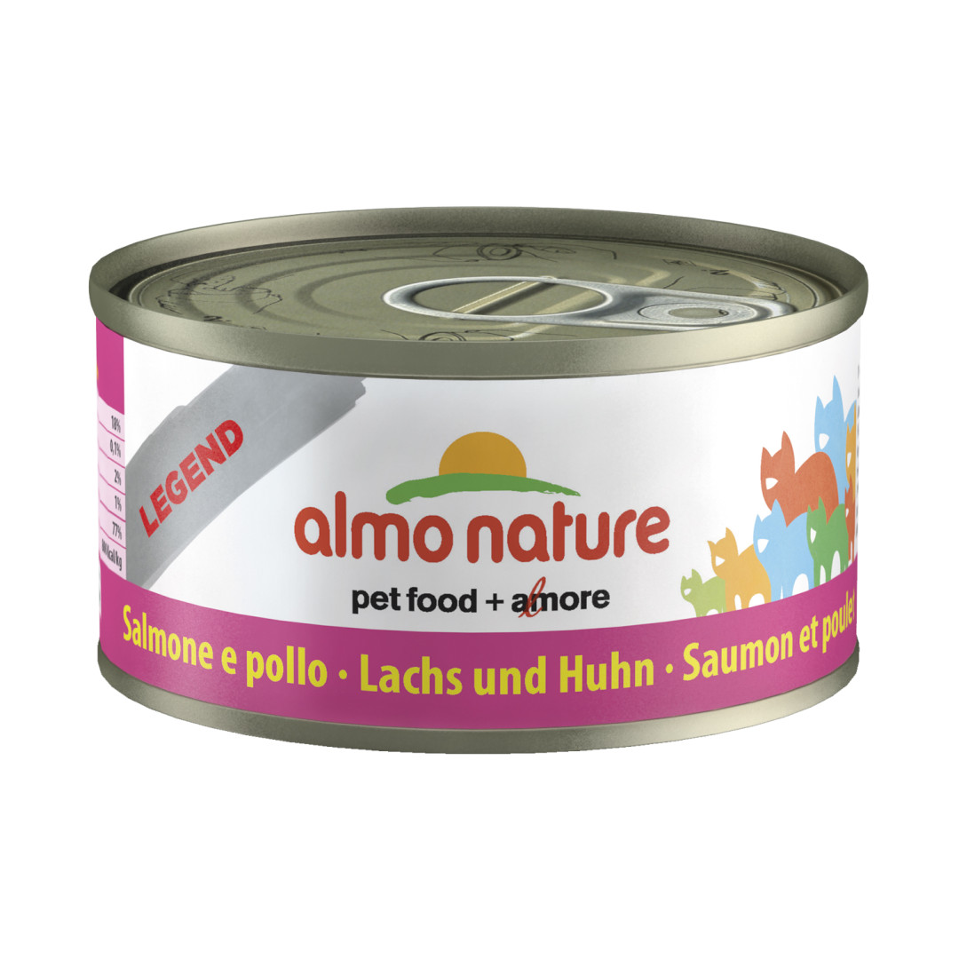Almo Nature kattenvoer Legend zalm & kip 70 gr