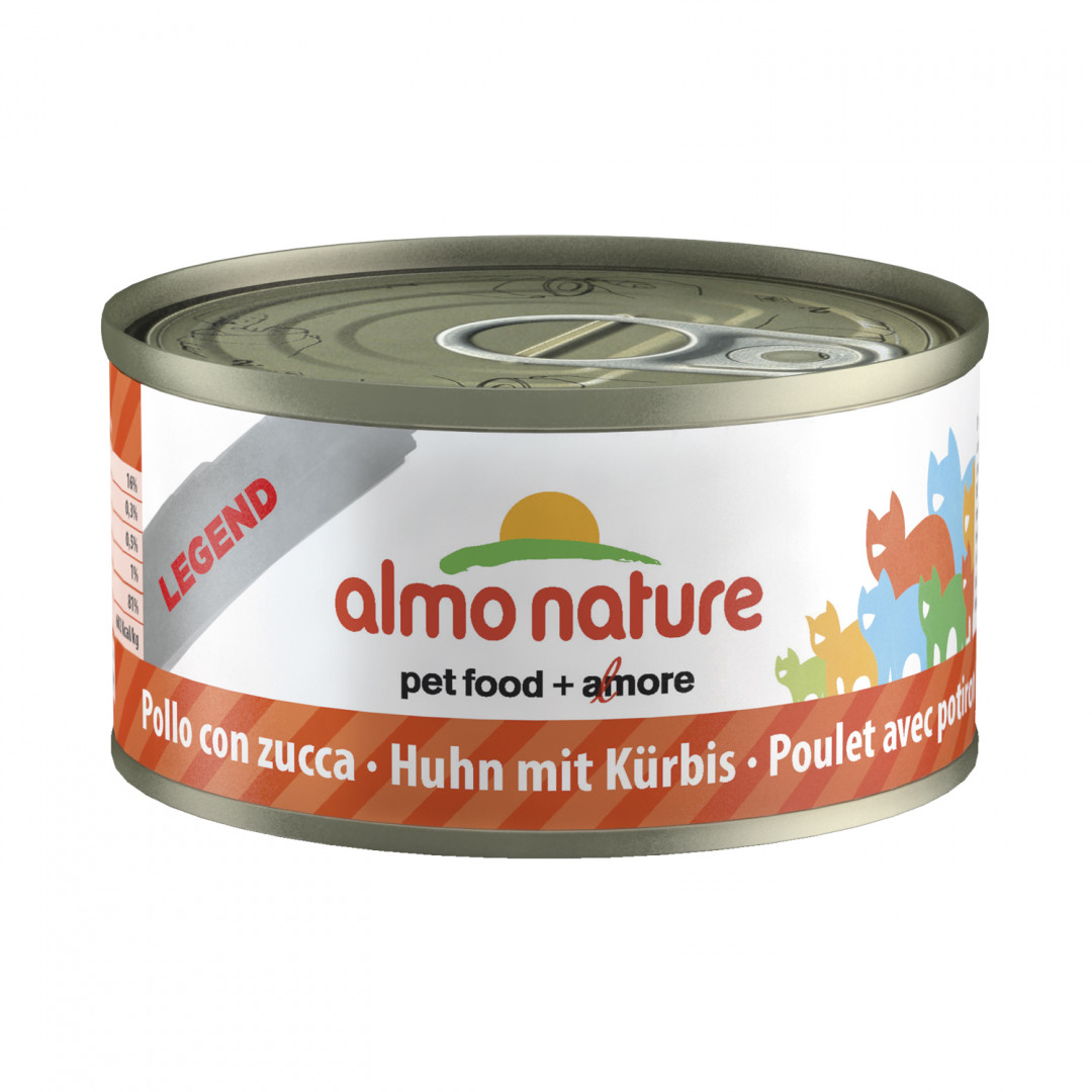 Almo Nature kattenvoer Legend kip & pompoen 70 gr