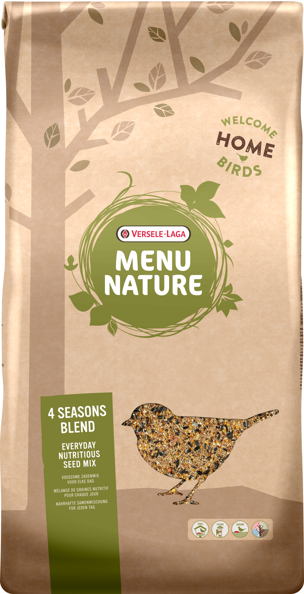 Menu Nature 4 Seasons Blend 20 kg