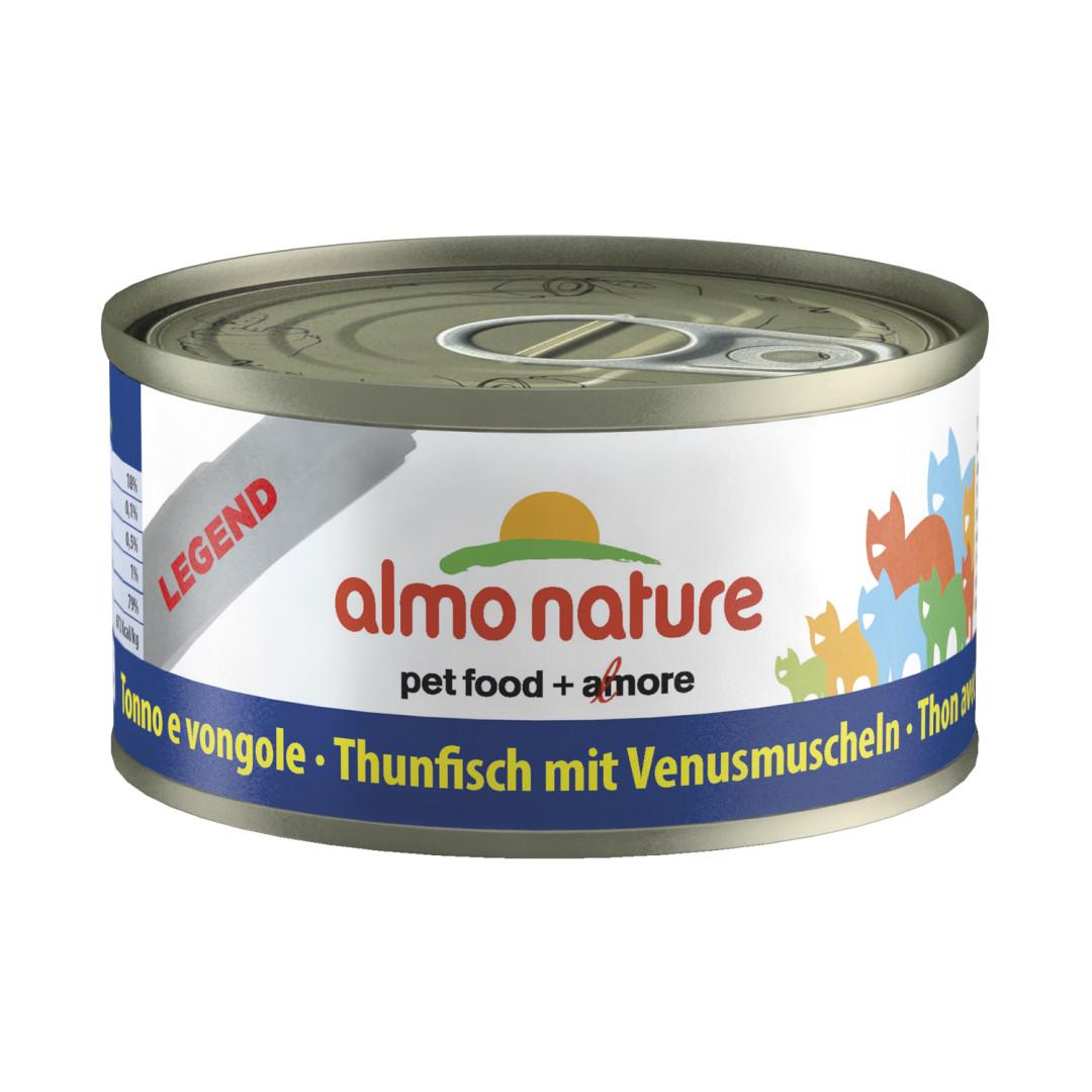 Almo Nature kattenvoer Classic tonijn & mosselen 70 gr