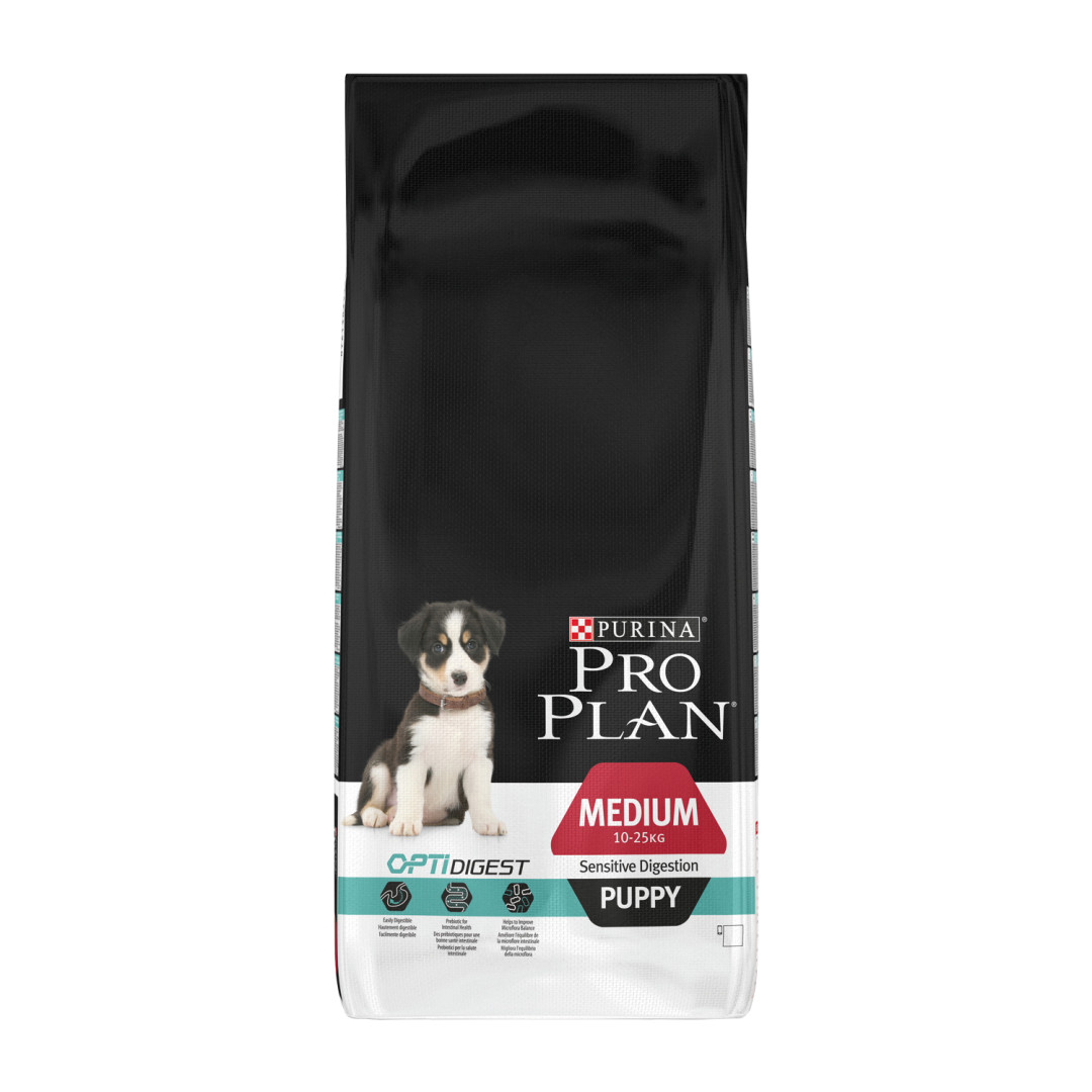 Pro Plan Medium Puppy Sensitive Digestion kip 12 kg