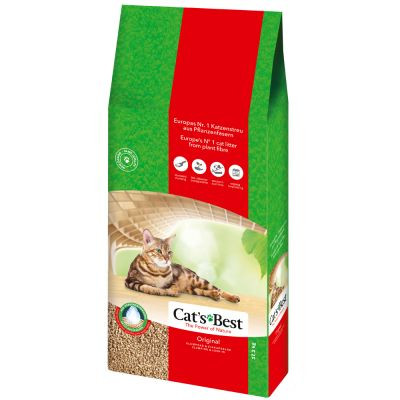 Cat's Best kattenbakvulling Original 17,2 kg