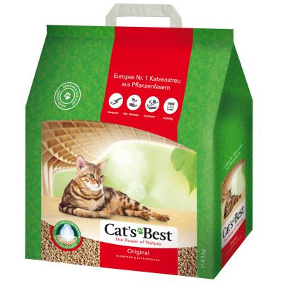 Cat's Best kattenbakvulling Original 4,3 kg