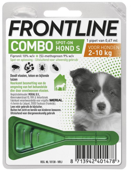 Frontline Puppy pack