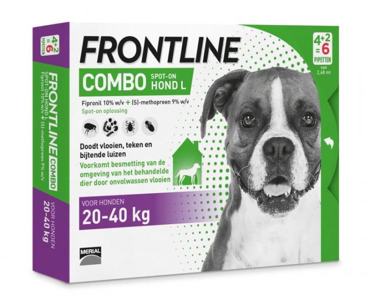 Frontline Combo L <br>6 pipetten