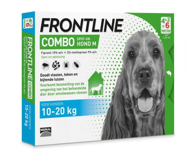 Frontline Combo M <br>6 pipetten