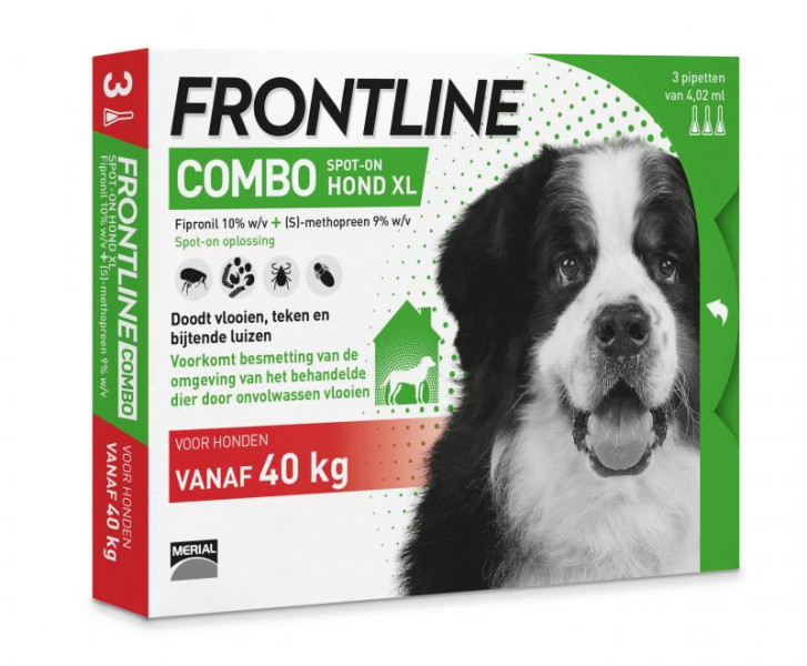 Frontline Combo XL <br>3 pipetten