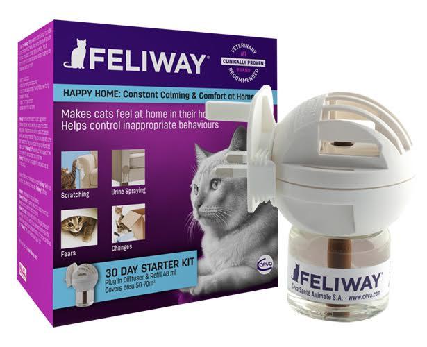 Feliway Classic diffuser met refill 48 ml