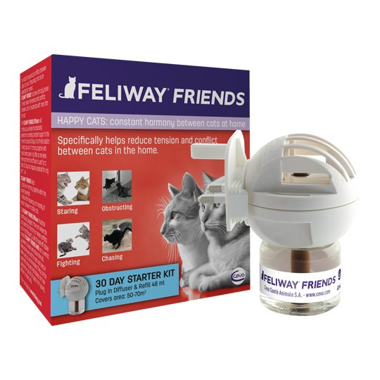 Feliway Friends diffuser met refill 48 ml
