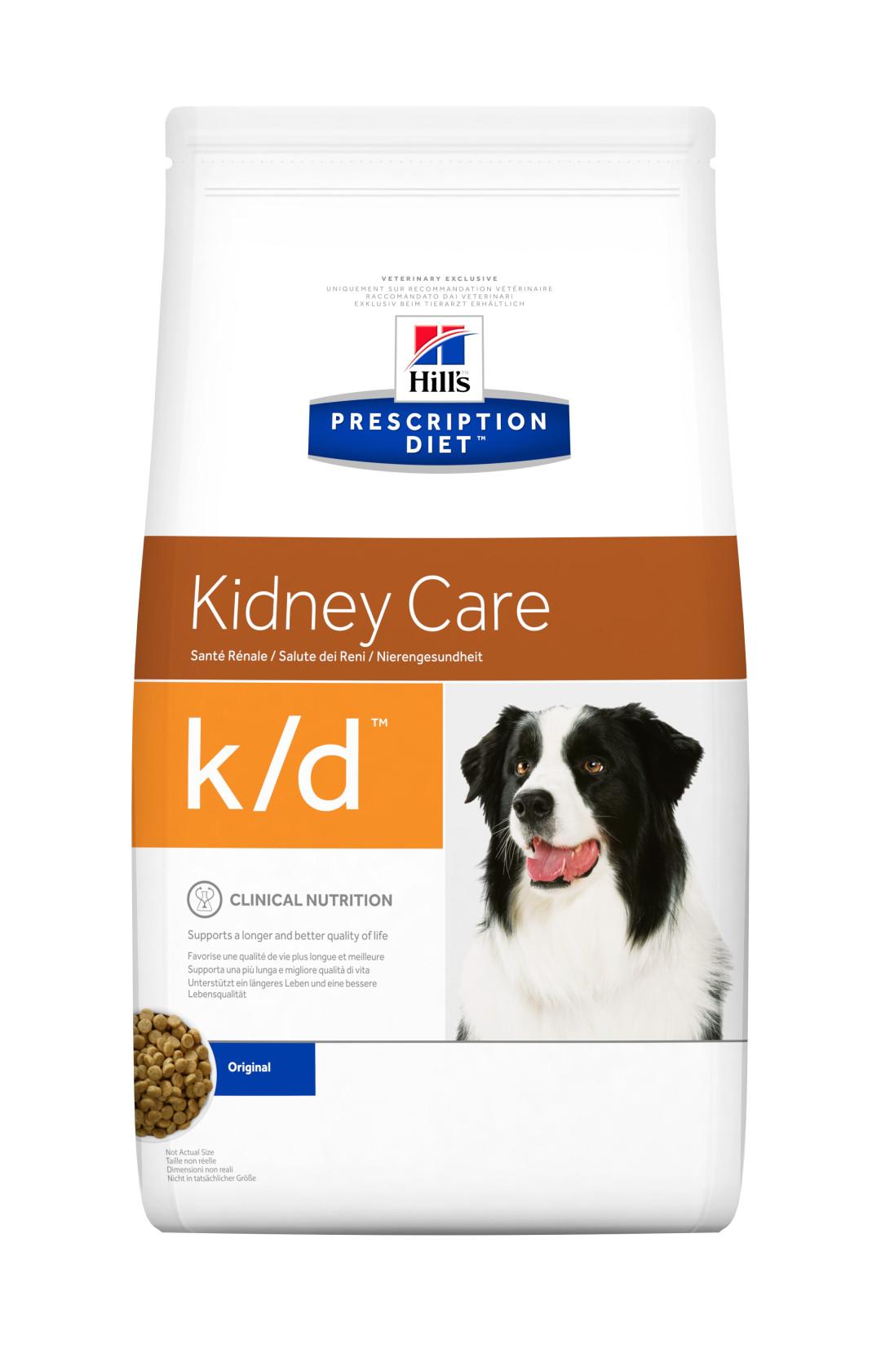 Hill's Prescription Diet hondenvoer k/d 12 kg