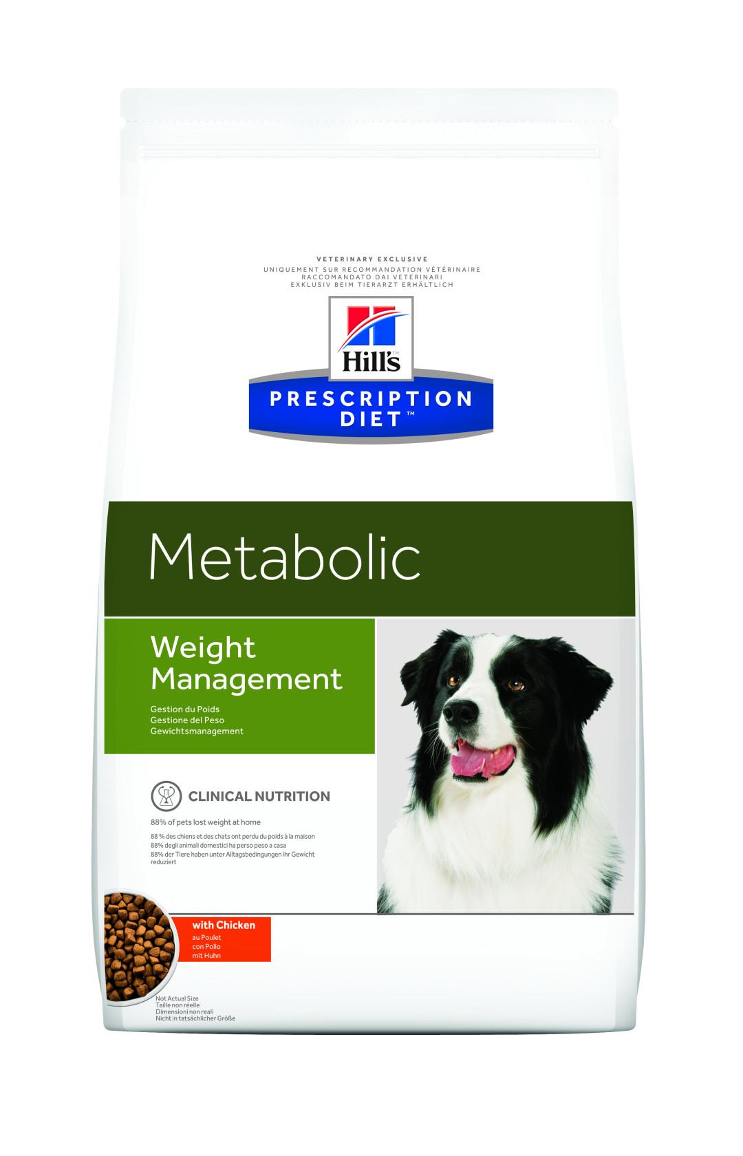 Hill's Prescription Diet hondenvoer Metabolic 12 kg