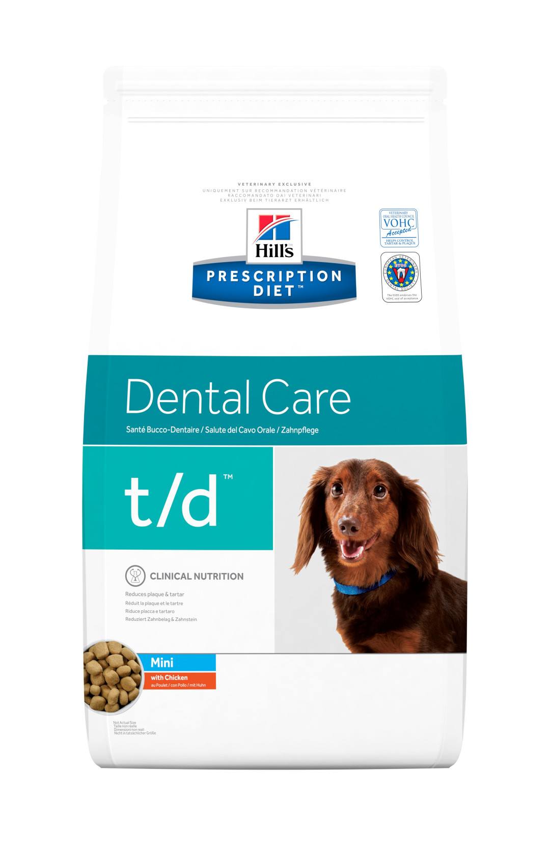 Hill's Prescription Diet hondenvoer t/d Mini <br>3 kg