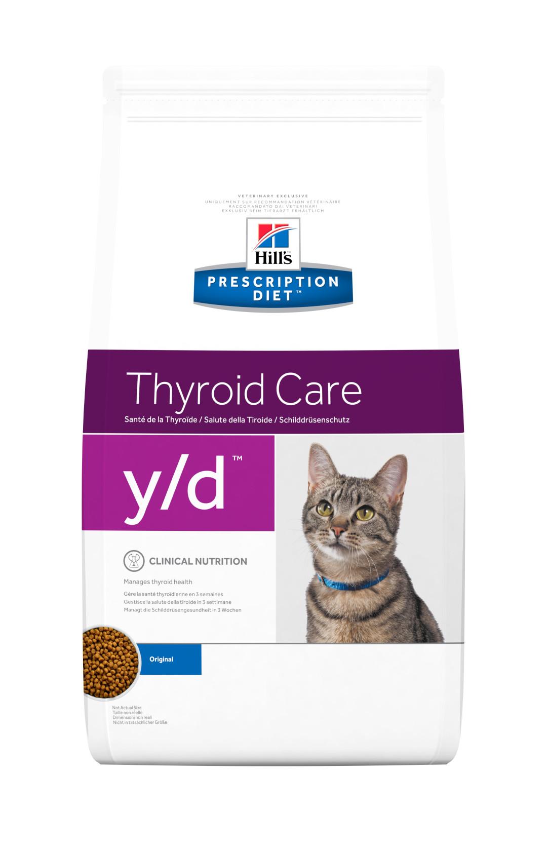 Hill's Prescription Diet kattenvoer y/d 1,5 kg