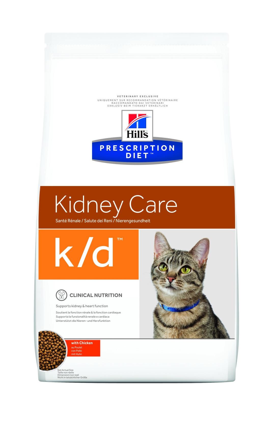 Hill's Prescription Diet kattenvoer k/d 1,5 kg
