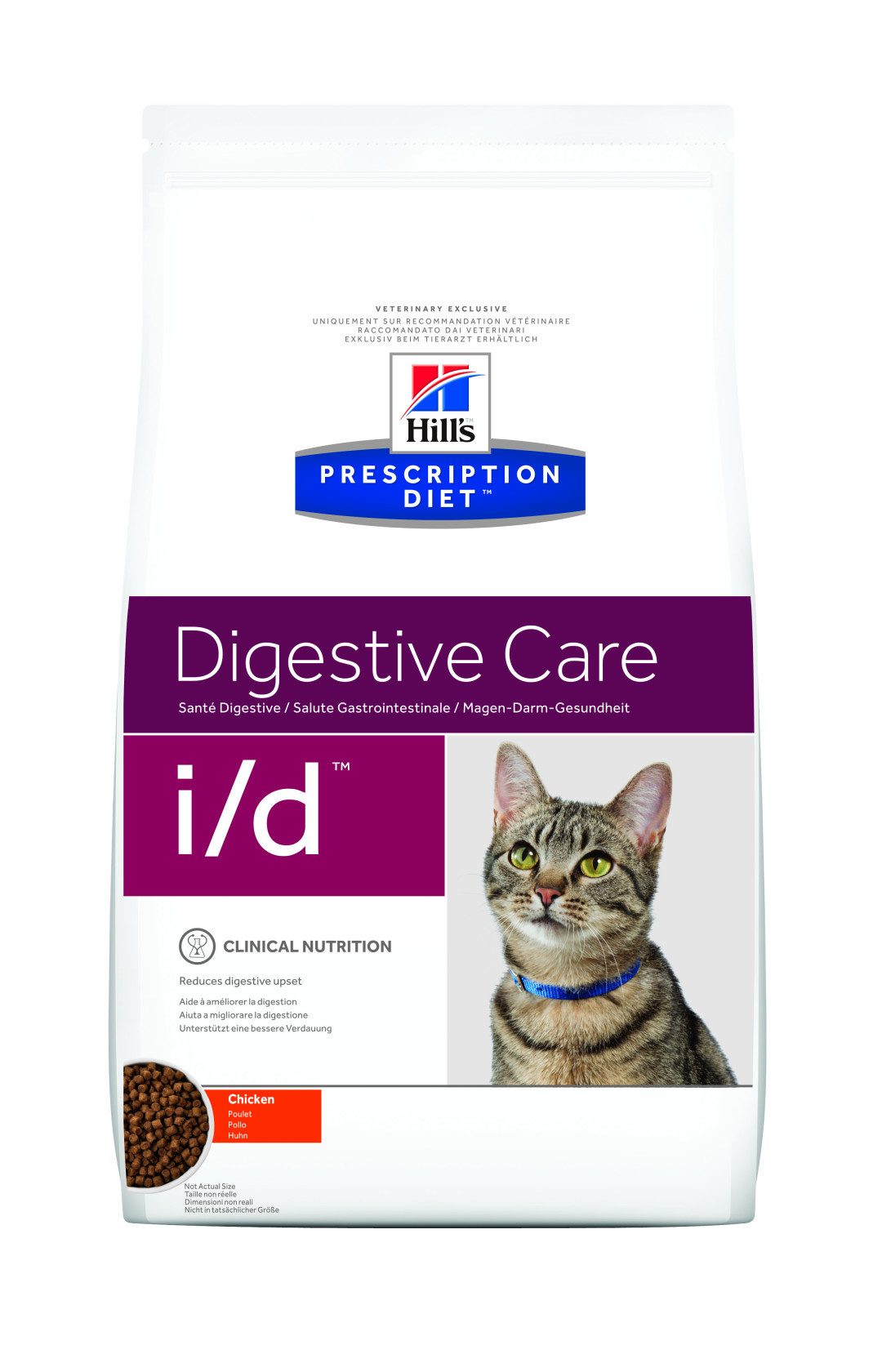 Hill's Prescription Diet kattenvoer i/d 1,5 kg