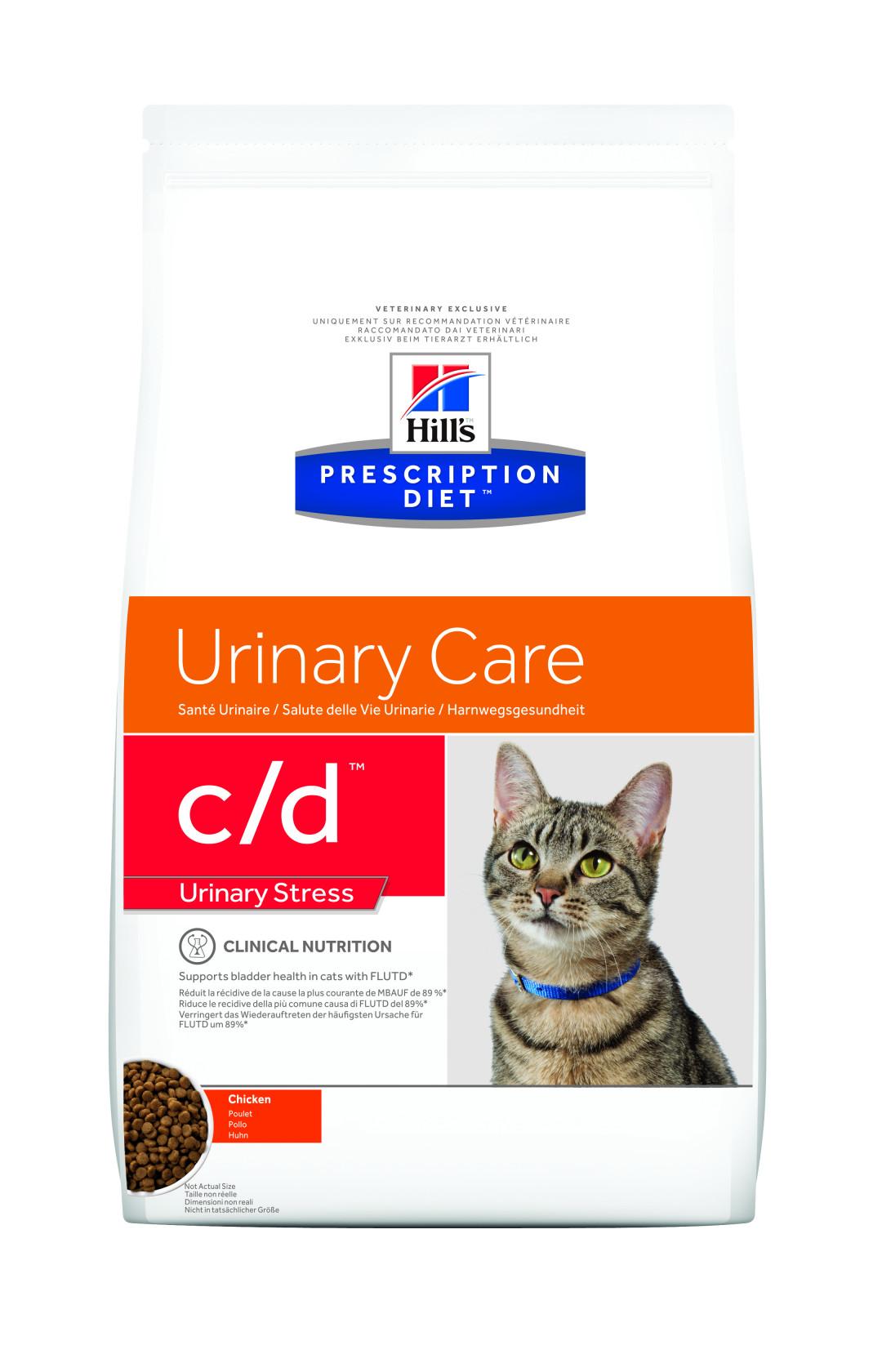 Hill's Prescription Diet c/d Urinary Stress <br>1,5 kg