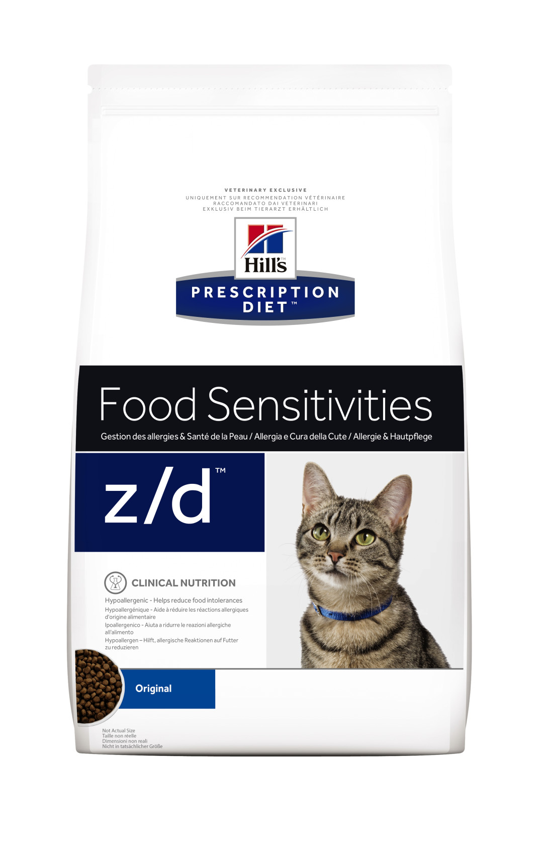 Hill's Prescription Diet kattenvoer z/d 2 kg