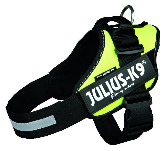 Julius K9 IDC harness neon yellow