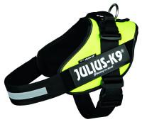 Julius K9 IDC harness neon yellow thumb