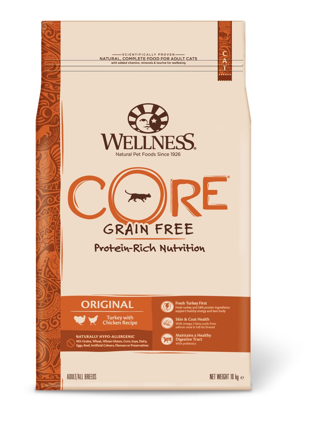 Wellness CORE kattenvoer Original <br>10 kg