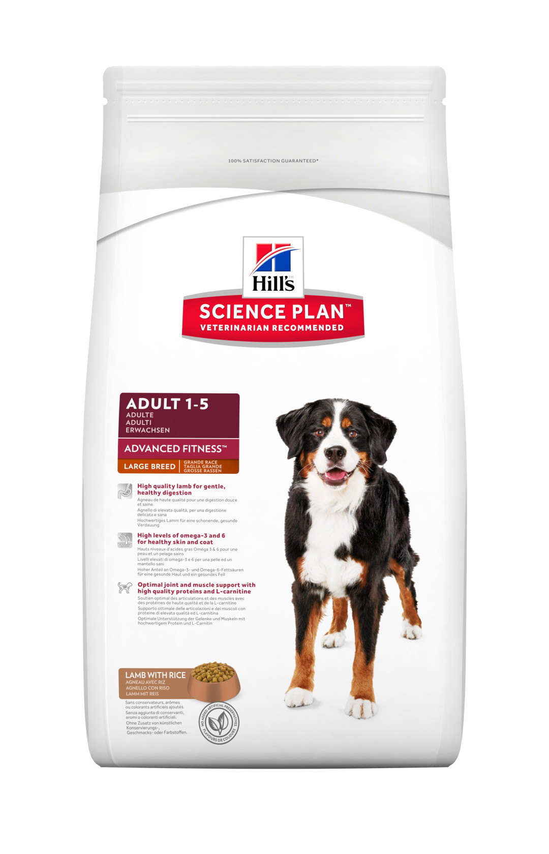 Hill's Science Plan Adult Large Breed lam & rijst 12 kg