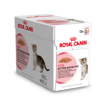Royal Canin kattenvoer Kitten Instinctive in gravy 12 x 85 gr thumb