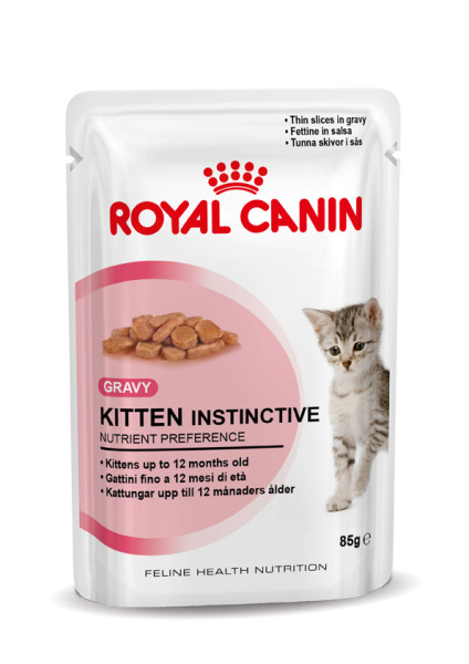 Royal Canin kattenvoer Kitten Instinctive in gravy 12 x 85 gr