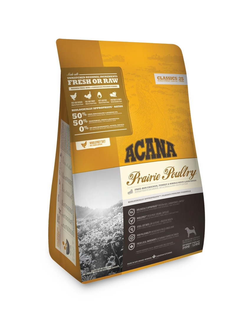 Acana Classics hondenvoer Prairie Poultry 340 gr