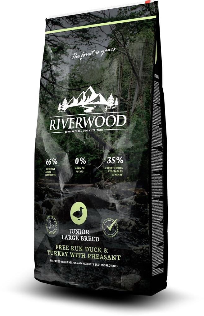 Riverwood hondenvoer Junior Large Breed Duck & Turkey 2 kg