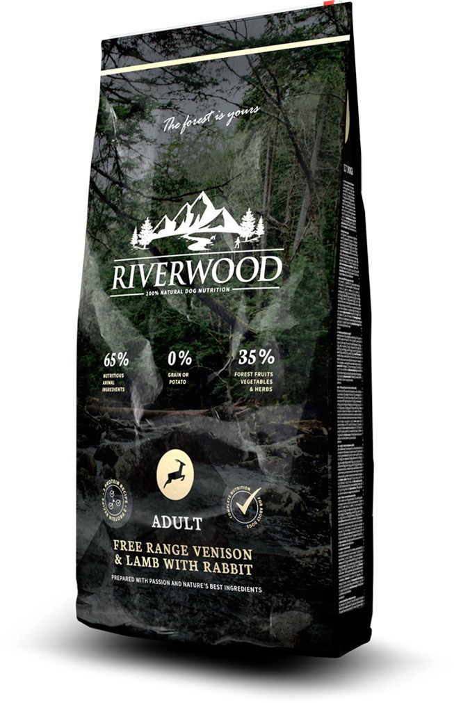 Riverwood hondenvoer Adult Venison & Lamb <br>2 kg