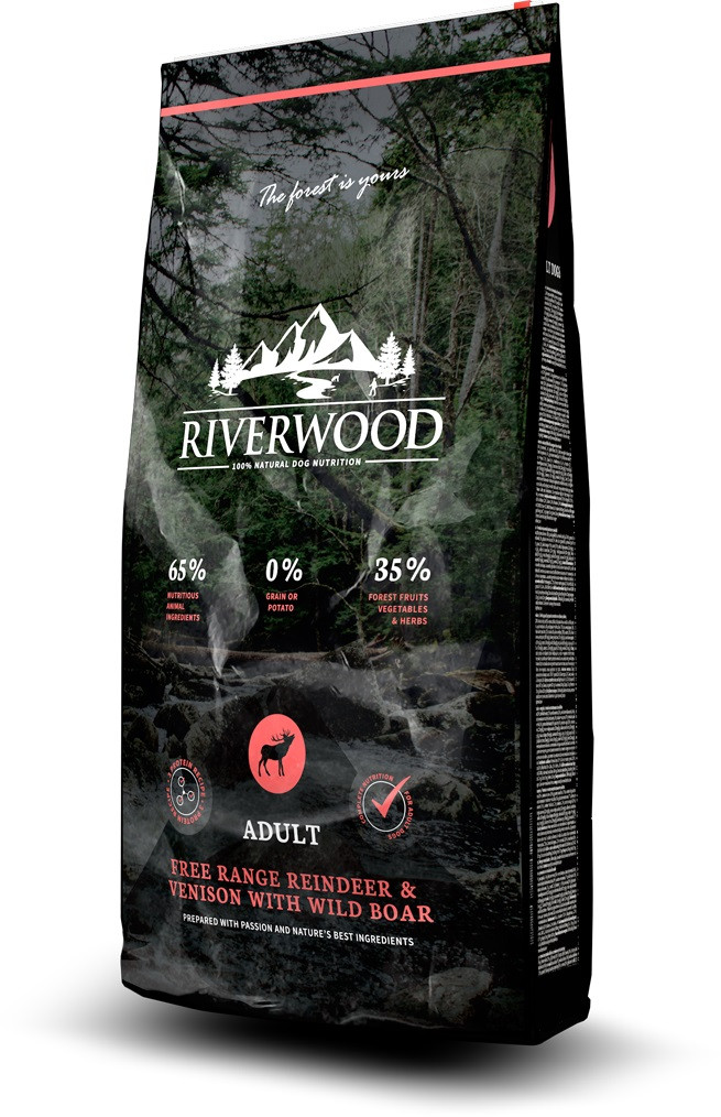 Riverwood hondenvoer Adult Reindeer & Venison 2 kg