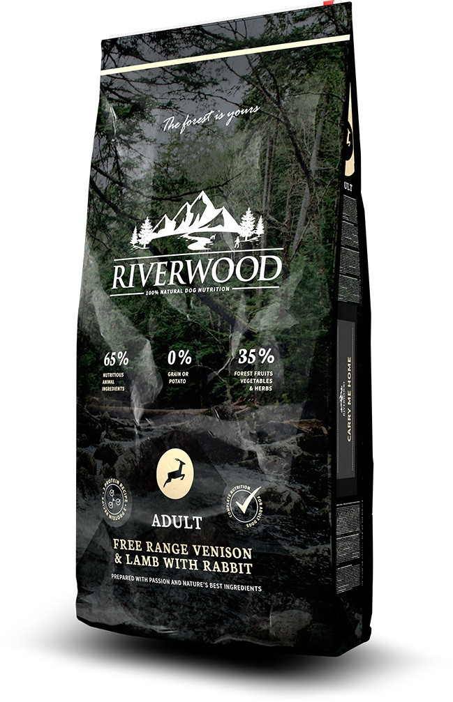 Riverwood hondenvoer Adult Venison & Lamb 12 kg