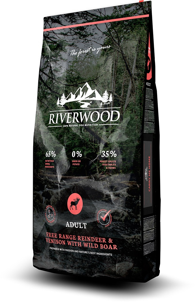 Riverwood hondenvoer Adult Reindeer & Venison 12 kg