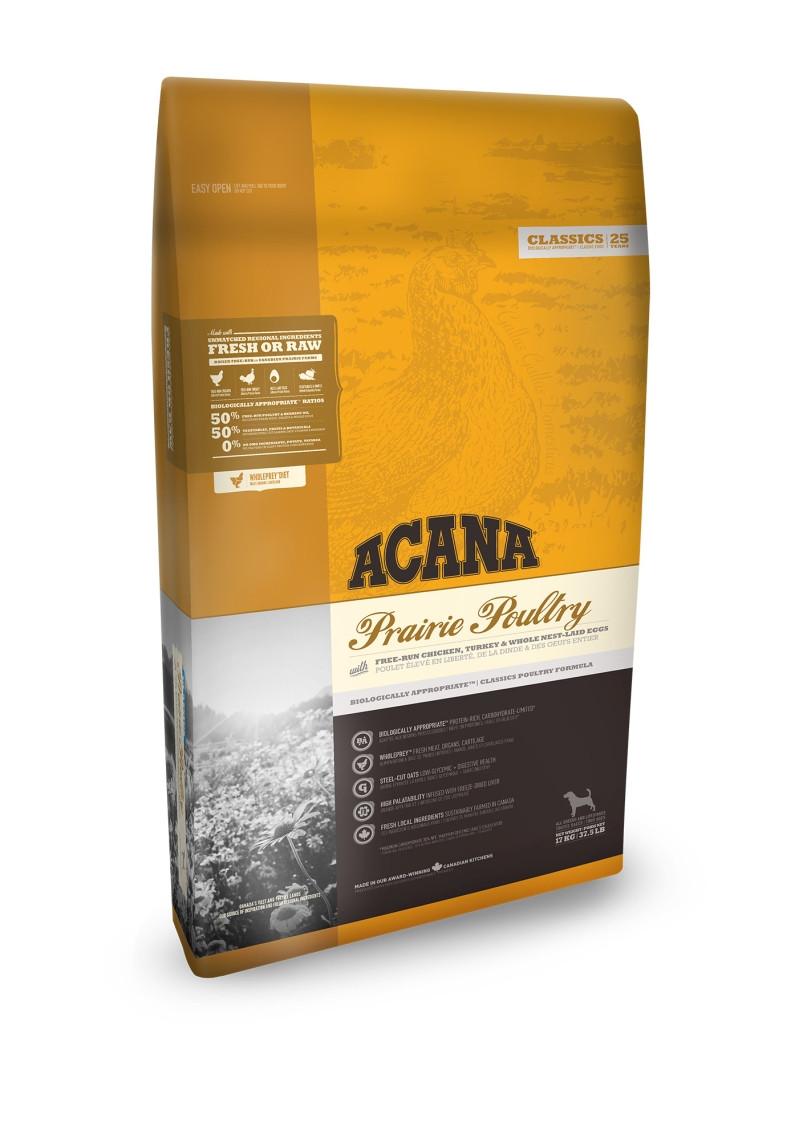 Acana Classics hondenvoer Prairie Poultry 17 kg