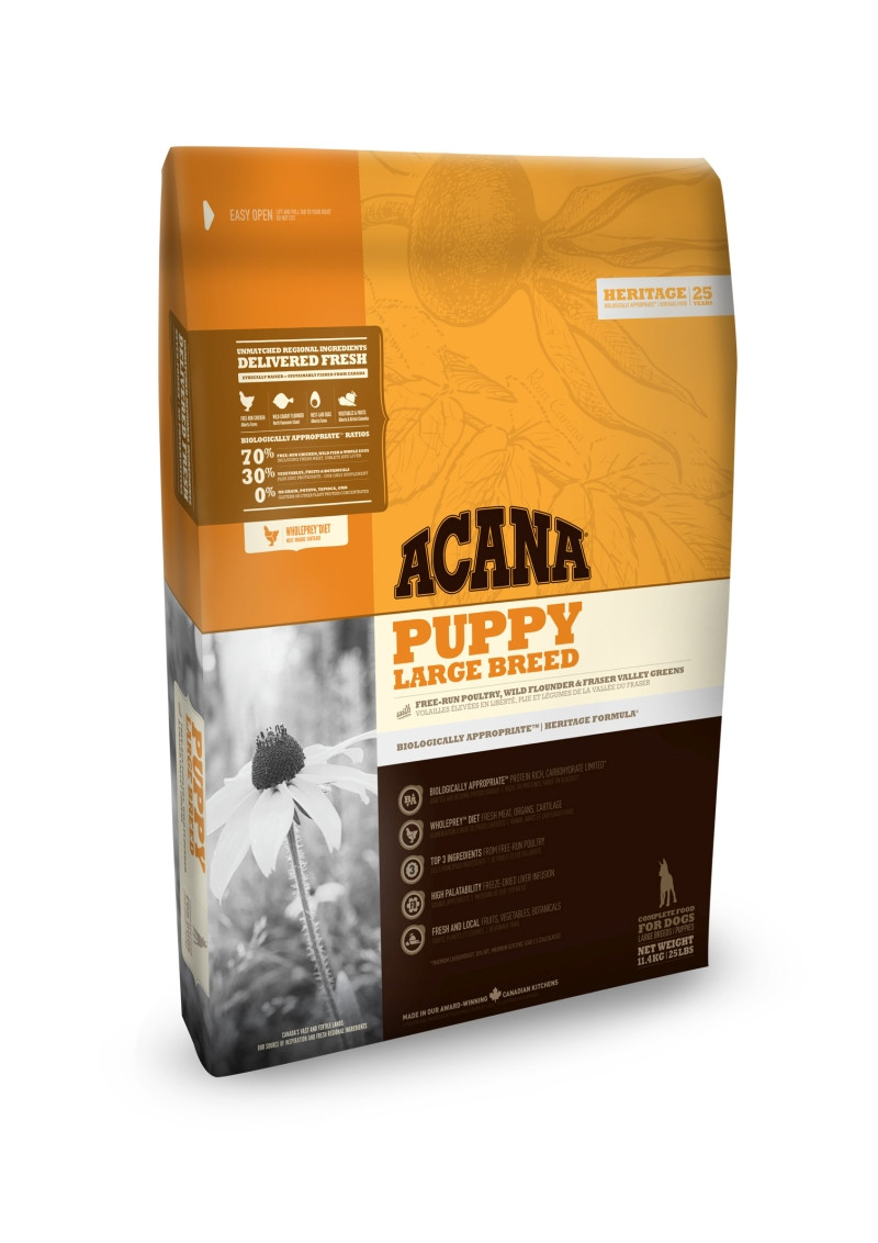 Acana Heritage hondenvoer Puppy Large Breed 11,4 kg