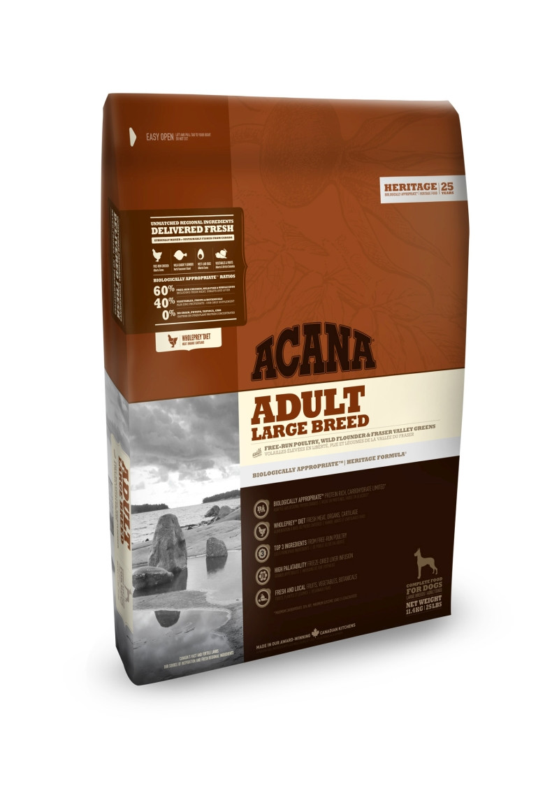 Acana Heritage hondenvoer Adult Large Breed 11,4 kg