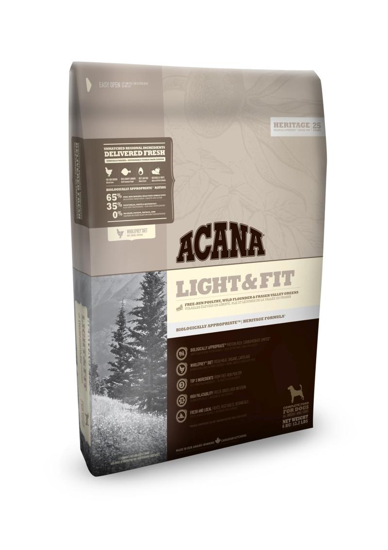 Acana Heritage hondenvoer Light & Fit 11,4 kg