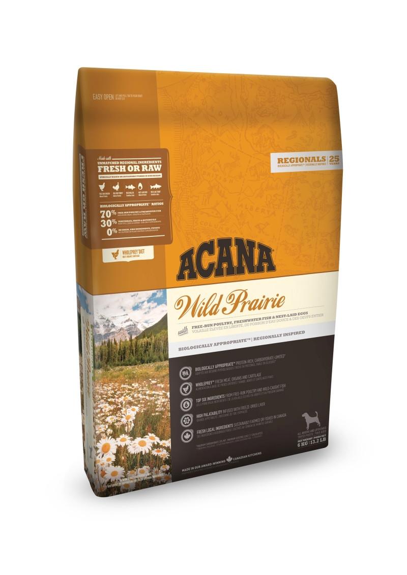 Acana Regionals hondenvoer Wild Prairie 11,4 kg