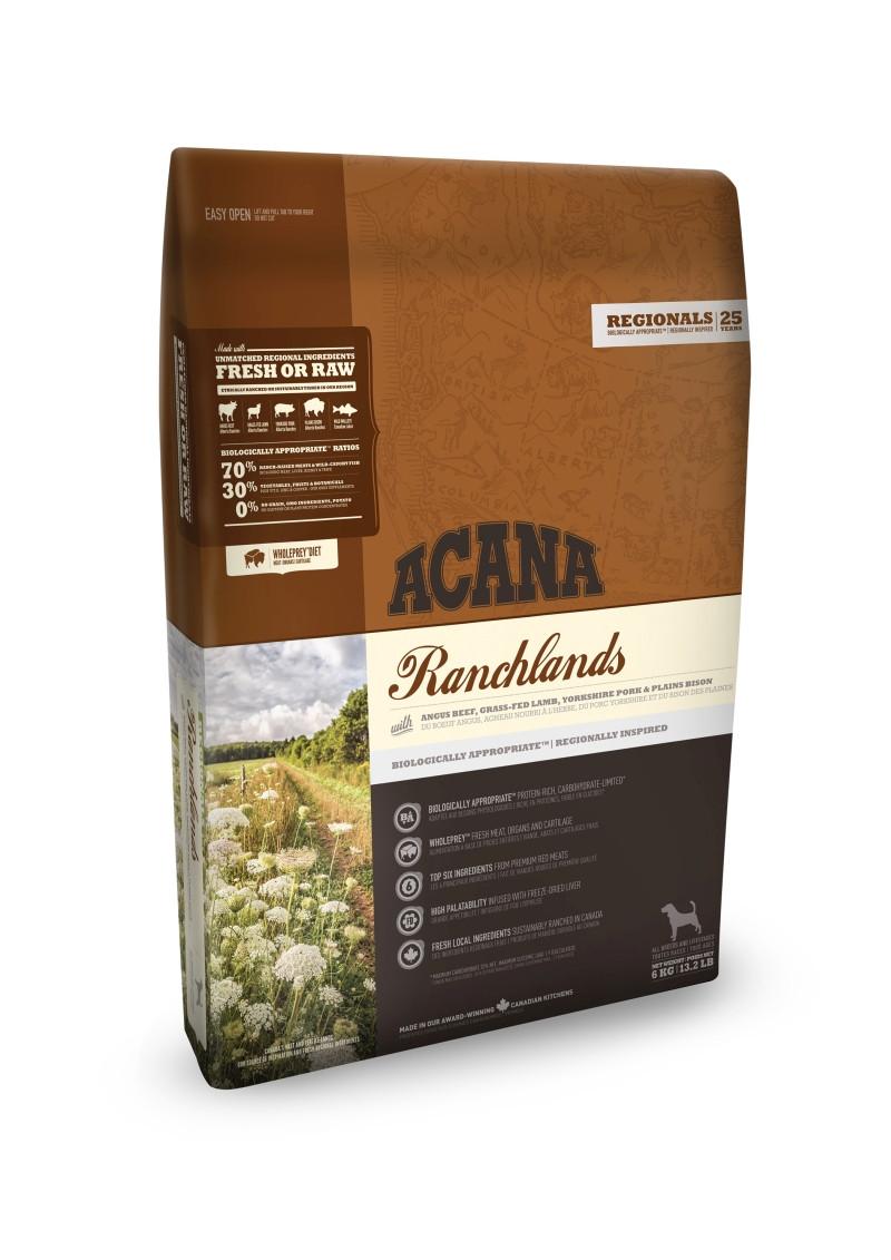 Acana Regionals hondenvoer Ranchlands 11,4 kg