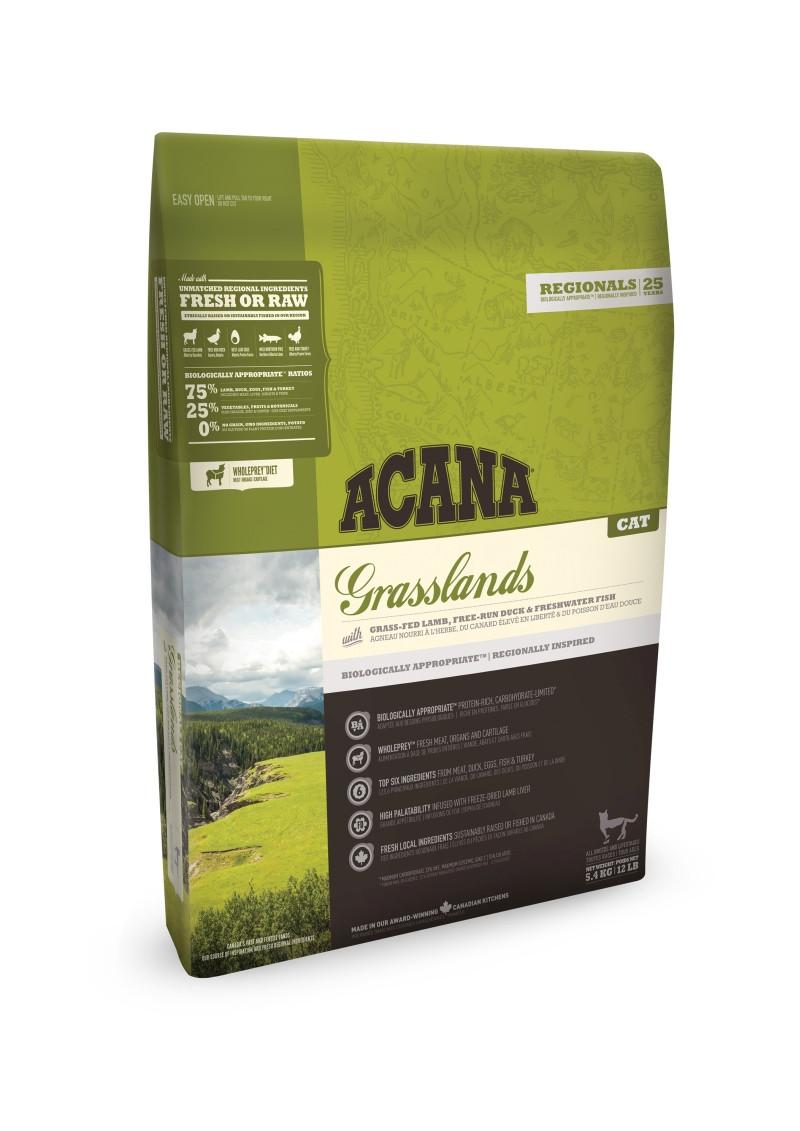 Acana Regionals kattenvoer Grasslands 1,8 kg