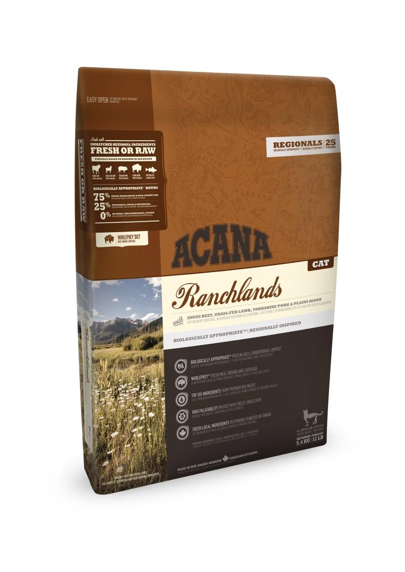 Acana Regionals kattenvoer Ranchlands 5,4 kg