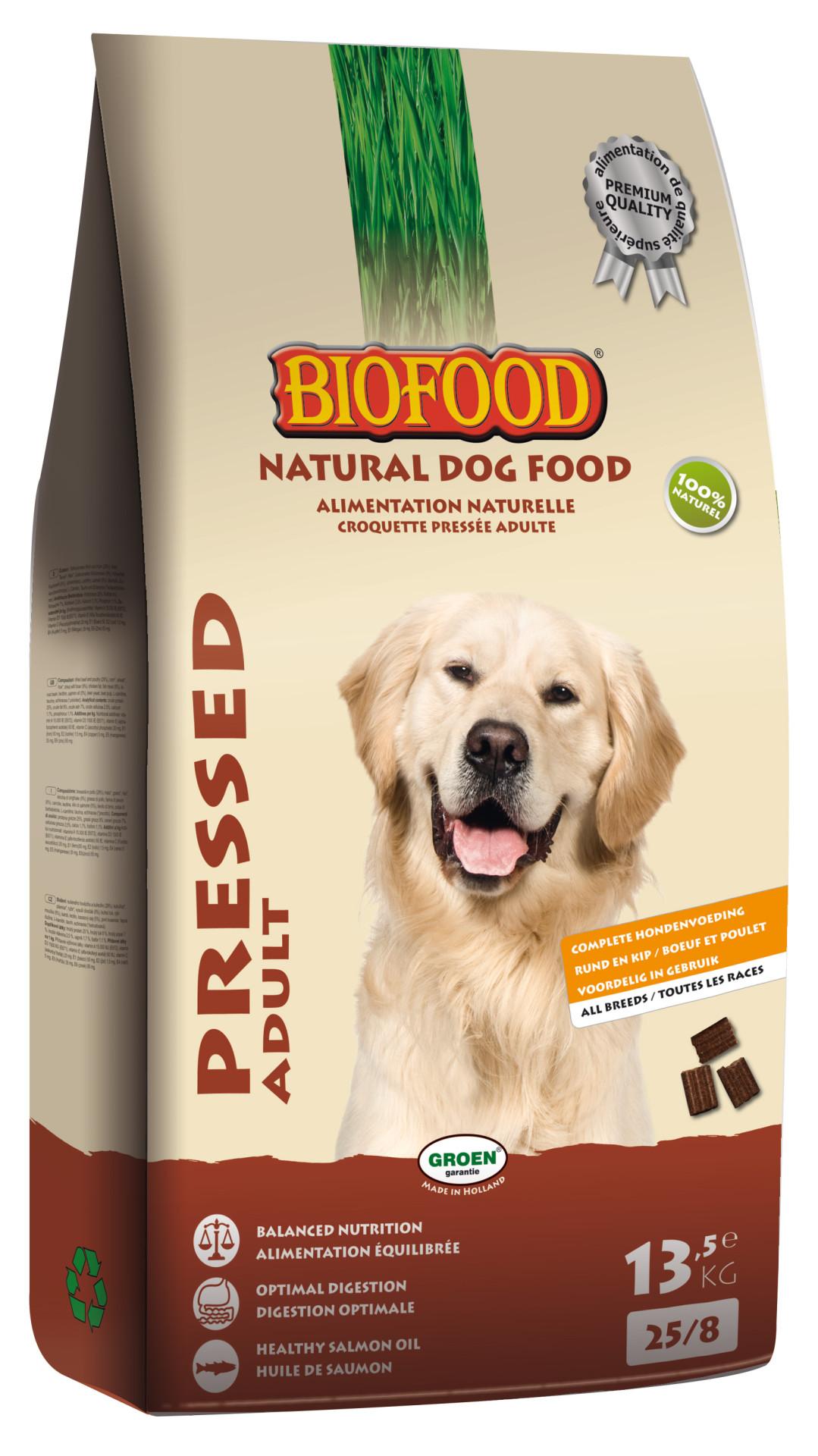 Biofood hondenvoer Geperst Adult 13,5 kg