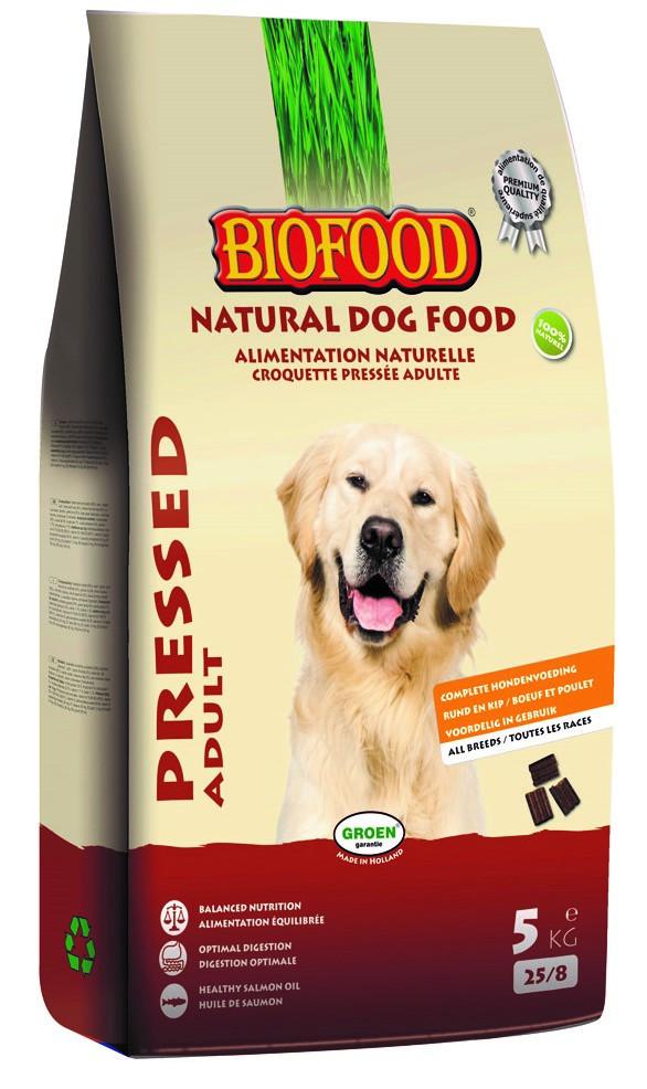 Biofood hondenvoer Geperst Adult 5 kg