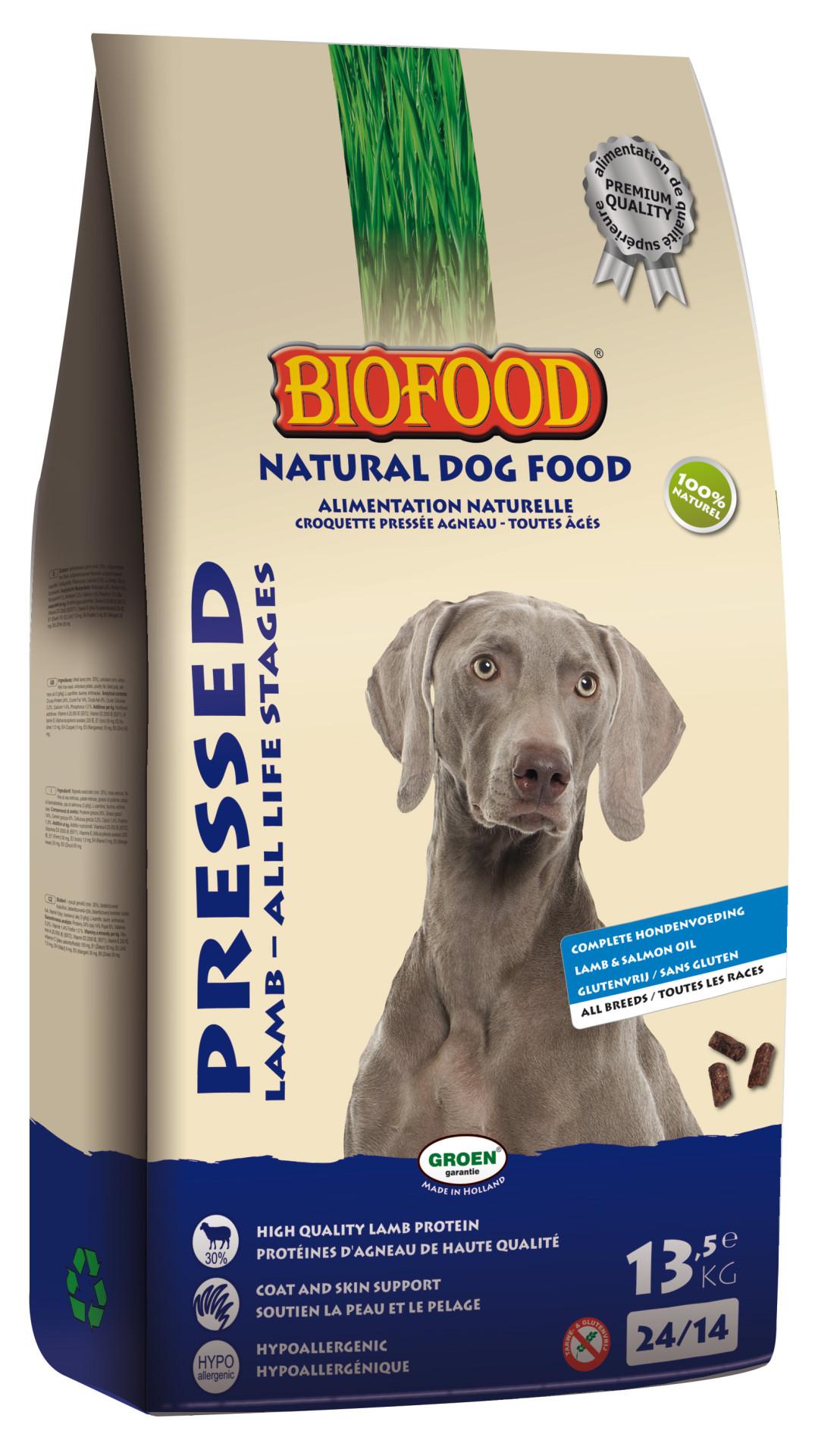Biofood hondenvoer Geperst Lam 13,5 kg