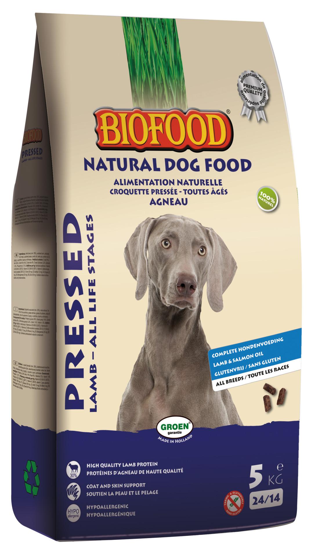 Biofood hondenvoer Geperst Lam 5 kg